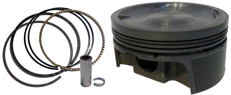 M.D. Spares - Mahle Forged Piston & Ring Set