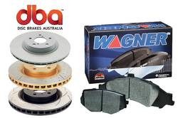 ROTOR/WAGNER PAD KIT - FRNT - NISSAN - DBAK625/1361 product image
